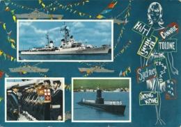 TARANTO  Marina Militare  Cacciatorpediniere  Sommergibile  Marinai - Taranto