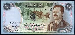IRAQ : 25  Dinar - P73  - 1986 - UNC - Iraq