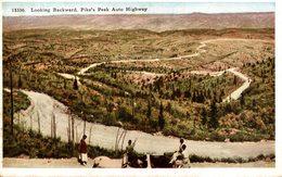 COLORADO  Looking Backward, Pike's Peak Auto Highway - Colorado Springs