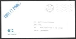 FRANCE '59 BOUSBECQUE P.P.' 1987  1  MARQUE POSTALE - Marcophilie (Lettres)