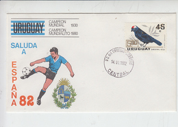 URUGUAY  1982 - Fauna - Uccello - Uruguay