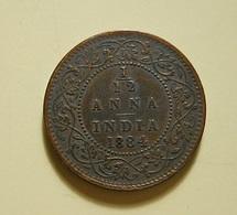 India 1/12 Anna 1884 - India