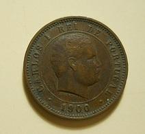 Portugal 5 Reis 1900 D. Carlos I - Portugal