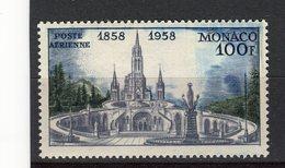 MONACO - Y&T Poste Aérienne N° 69* - Lourdes - Airmail