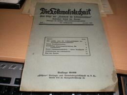 Die Lokomotivtechnih 1920 - Automobili & Trasporti