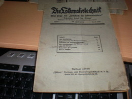 Die Lokomotivtechnih 1919 - Automobili & Trasporti