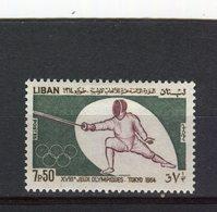 LIBAN - Y&T N° 248* - Jeux Olympiques De Tokyo - Escrime - Libanon