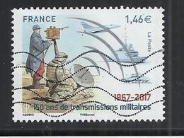 FRANCE 2017 - 150 ANS DE TRANSMISSIONS MILITAIRES - OBLITERE USED GESTEMPELT USADO - Used Stamps