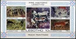 Lesotho - 1983 - Peintures Rupestres - Rock Paintings - Neufs - Archaeology