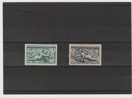 FRANCE 1952 N° 937 à 938 *   CHARNIÈRES - Unused Stamps
