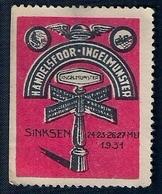 VIGNETTE - HANDELSFOOR INGELMUNSTER - SINKSEN  (1931) - Neufs