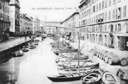 1008 - Cpa 13 Marseille -  Quai Du Canal - Non Classés