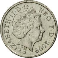 Monnaie, Grande-Bretagne, Elizabeth II, 5 Pence, 2009, TTB+, Copper-nickel - 1971-… : Monnaies Décimales