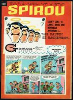 "SPIROU N° 1331 -  Année 1963 - Couverture ""GASTON"" De FRANQUIN Et ""LUCKY LUKE"" De MORRIS. - Spirou Magazine"