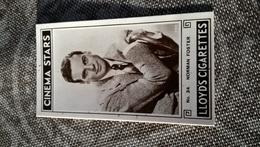 RICHARD LLOYD'S CIGARETTES CINEMA STARS N°34 - Cigarette Cards