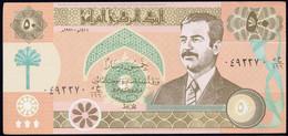 IRAQ : 50 Dinar -  P75 - 1991 - Unc - Iraq