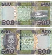 South Sudan - 500 Pounds 2018 UNC Lemberg-Zp - Soudan Du Sud