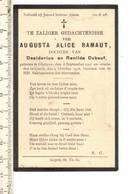 DP 7170 - AUGUSTA RAMAUT - GHELUWE 1907 + GOYCK 1918 - Devotion Images