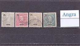 Portugal  Angra  -  Lote  4  Sellos Diferentes  -  10/8995 - Angra