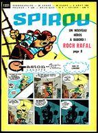 """SPIROU N° 1321 -  Année 1963 - Couverture """"GASTON"""" De FRANQUIN. - Spirou Magazine"""