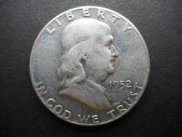 United States ½ Dollar 1952 Franklin Half Dollar - EDICIONES FEDERALES