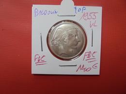 Baudouin 1er. 20 Francs 1955 VL RARE !!! . QUALITE FDC !!! - 1951-1993: Baudouin I