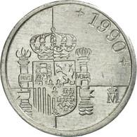 Monnaie, Espagne, Juan Carlos I, Peseta, 1990, TTB+, Aluminium, KM:832 - [ 5] 1949-… : Royaume