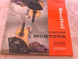 Carlos MONTOYA  Récital Guitare Espagnole - Vinyl-Schallplatten