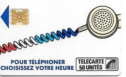 CARTE-PUBLIC-Ko58.-645.3-50U-SC4On-S/E-SERIGRAPHIE- -Puce 7-6 Impact-CORDON BLANC--Série-N°895691 Reste 2U-TBE - France