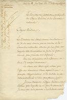 MINISTRE DES CONTRIBUTIONS PUBLIQUES ETIENNE CLAVIERE.LAS 1793 AU PRESIDENT DE LA CONVENTION DENONCIATION INCULPATION - Autographs