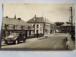 C.P.A. : 59 ANOR (Nord) : Le Carrefour De La Cloche D'Or, , Voiture 2CV Citroën - Andere Gemeenten