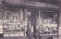 Charleroi Au Régulateur - Bijouterie - Horlogerie - A. Lefèbvre - 77, Rue De La Montagne, Charleroi ( Animé ) - Charleroi