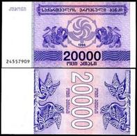 Georgia 20 000 Laris 1994 P-46 UNC - Géorgie