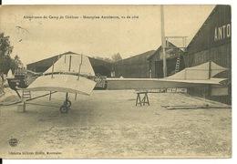51 - AERODROME DE CHALONS / MONOPLAN ANTOINETTE AU SOL - Camp De Châlons - Mourmelon
