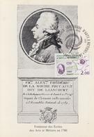 Carte Maximum  1er  Jour    FRANCE  Ecole  Nationale  Supérieure  D' Arts  Et  Métiers   LIANCOURT  1980 - Cartes-Maximum