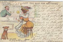 Humour Card. Sent To Denmark 1905.  S-4440 - Humour