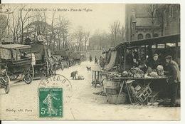 94 - SAINT MANDE / LE MARCHE - PLACE DE L'EGLISE - Saint Mande