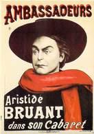 PUB PUBLICITE -NUGERON  N 1 ELDORADO Aristide BRUANT Dans Son Cabaret  AMBASSADEURS  ( Spectacle)*PRIX FIXE - Publicité