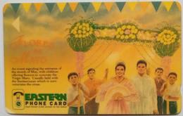 6PETD Eastern Telecom Flores De Mayo  150 Units - Philippines