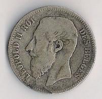 BELGIQUE  -Léopold II - 2 Francs 1868 - 1865-1909: Leopold II