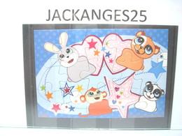 KINDER PUZZLE MIXART 2011 MPG DC 043 SANS OHNE WITHOUT BPZ - Puzzles