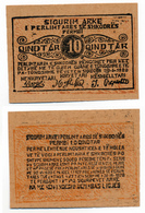 1920 // ALBANIE // 10 QINDTAR - Albanie