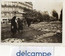 Photo Ancienne - LE HAVRE  Sous La Neige Le 16 Janvier 1933 - Lieux
