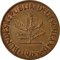 Monnaie, République Fédérale Allemande, 2 Pfennig, 1965, Stuttgart, TTB - [ 7] 1949-… : FRG - Fed. Rep. Germany