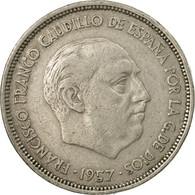 Monnaie, Espagne, Caudillo And Regent, 25 Pesetas, 1959, TB+, Copper-nickel - [ 5] 1949-… : Royaume