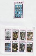 Bernera; Chess Echecs Schaken Ajedrez; Gold Overprint Rotary - Emissione Locali
