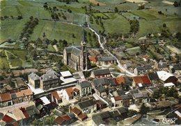 CPSM Dentelée - MATTON (08) - Vue Aérienne Du Bourg Dans Les Années 60 / 70 - France