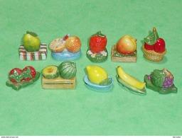 Sèrie De Fèves Complète : Les Fruits De Saison - Charms