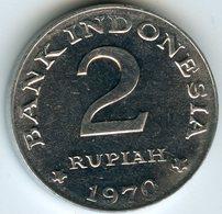 Indonesie Indonesia 2 Rupiah 1970 KM 21 - Indonésie