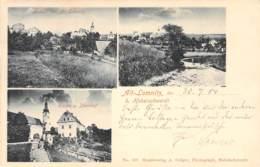 Alt-Lomnitz B.Habelschwerdt Mehrbild 1904 - Schlesien